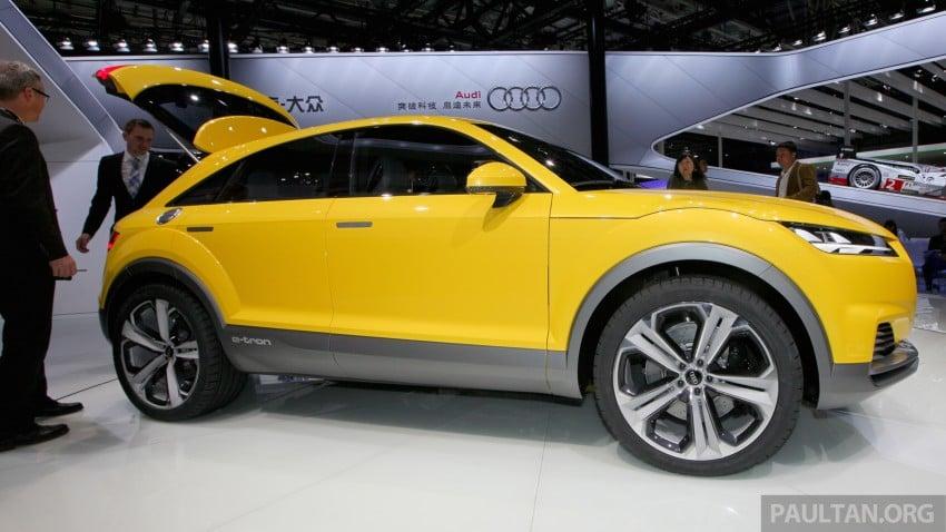 Beijing 2014: Audi TT Offroad Concept is a tallboy TT Image #243106