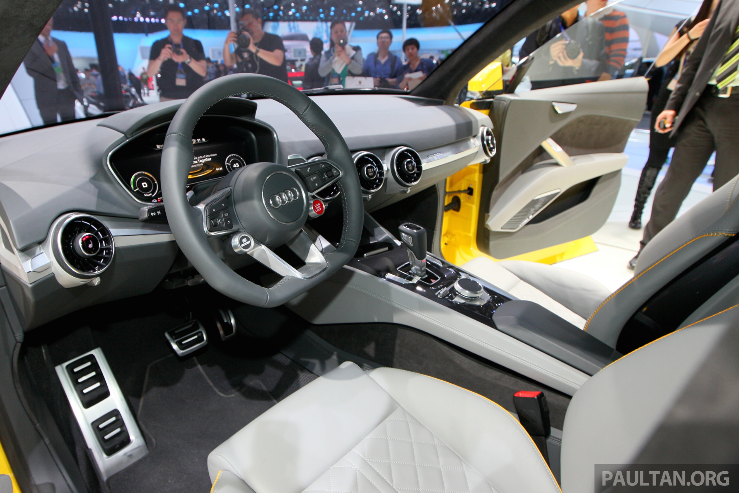 Beijing 2014 Audi Tt Offroad Concept Is A Tallboy Tt