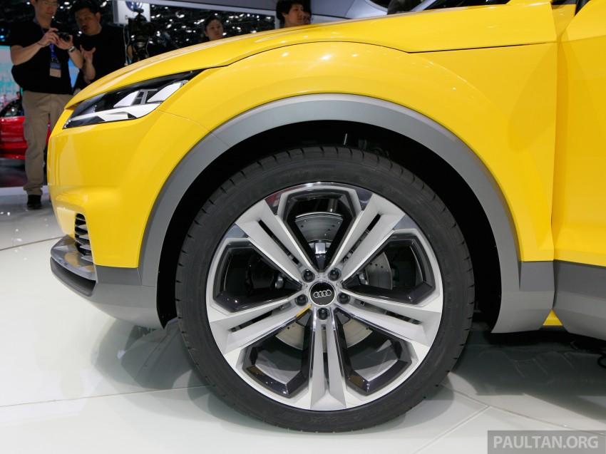 Beijing 2014: Audi TT Offroad Concept is a tallboy TT Image #243099