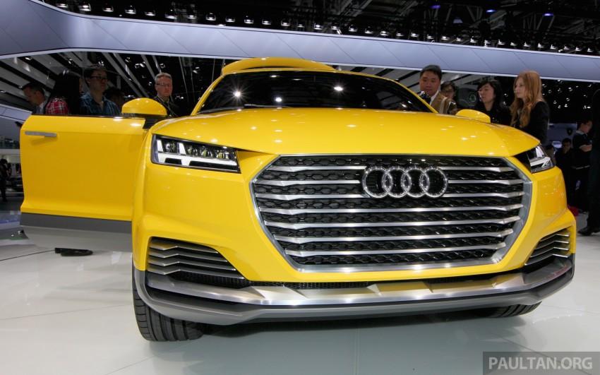 Beijing 2014: Audi TT Offroad Concept is a tallboy TT Image #243101