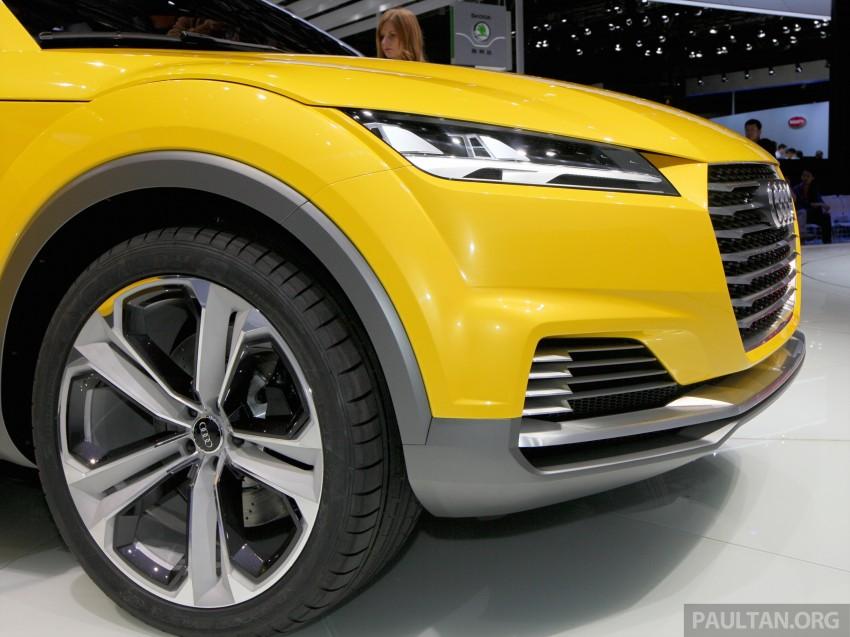Beijing 2014: Audi TT Offroad Concept is a tallboy TT Image #243103
