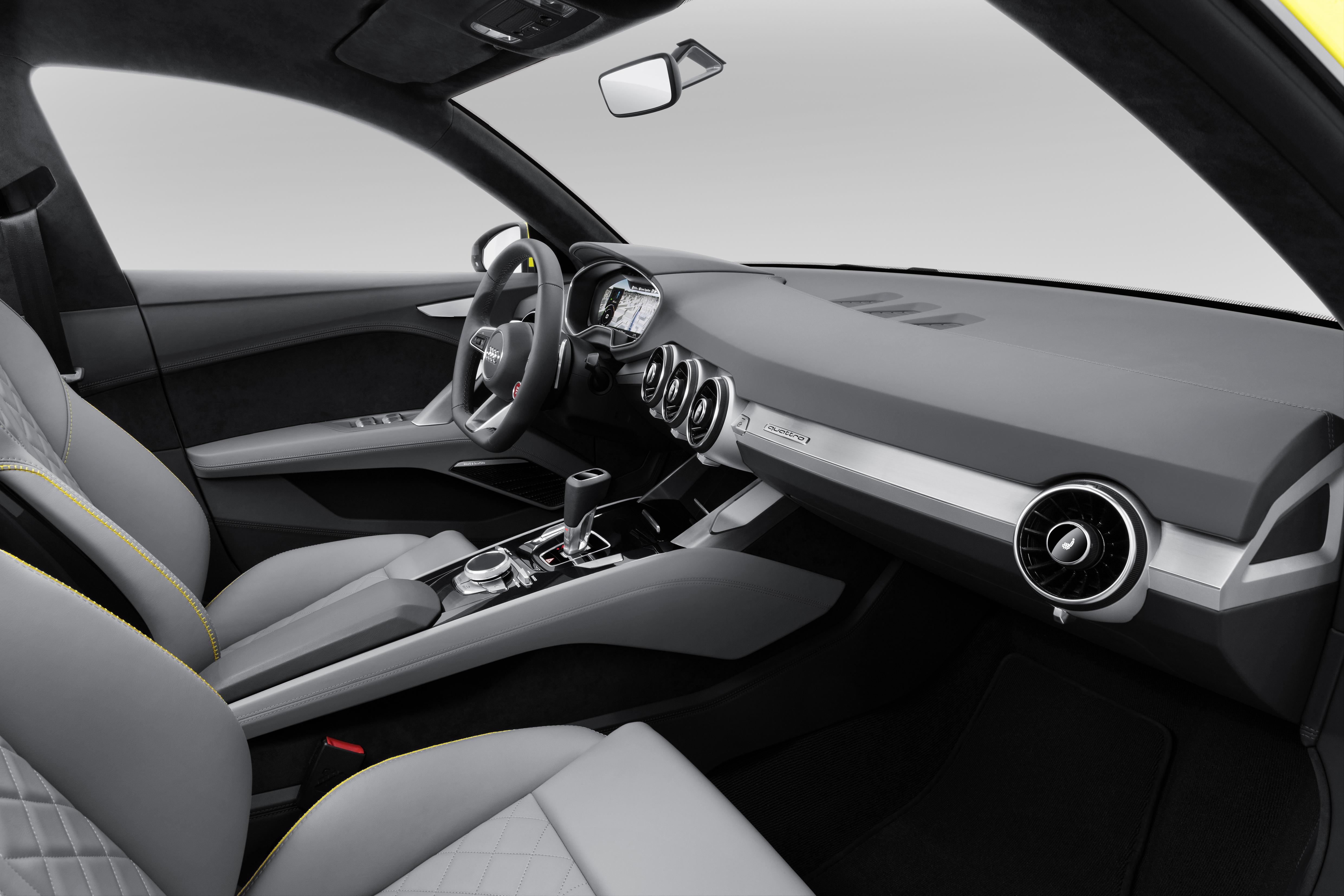 Audi TT Offroad Concept previews future Q4 'TT SUV' Image ...