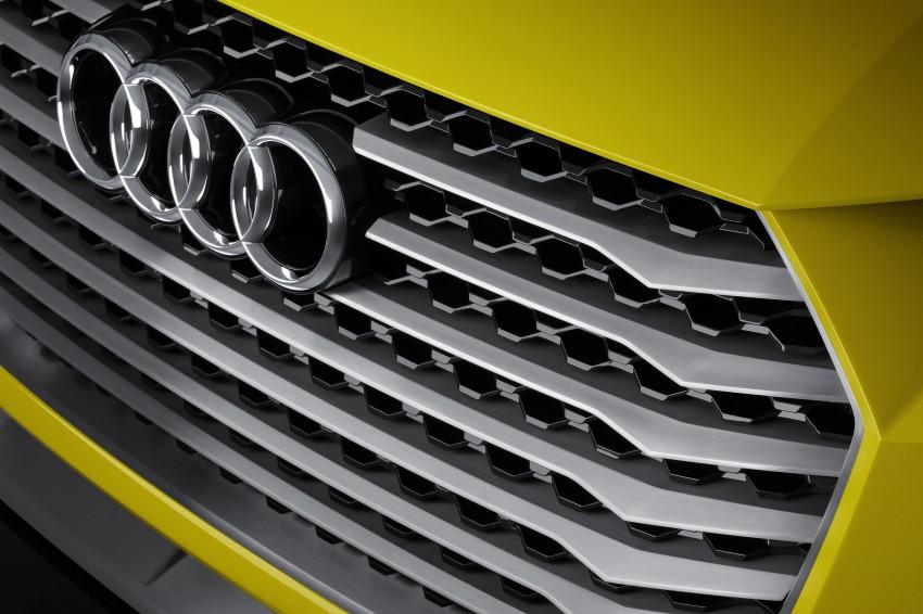 Audi TT Offroad Concept previews future Q4 'TT SUV' Image #242654