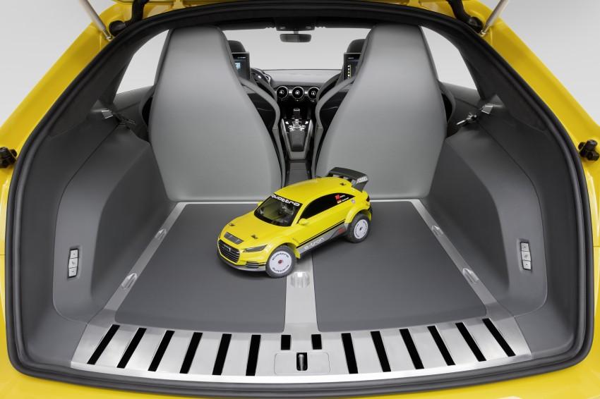 Audi TT Offroad Concept previews future Q4 'TT SUV' Image #242655