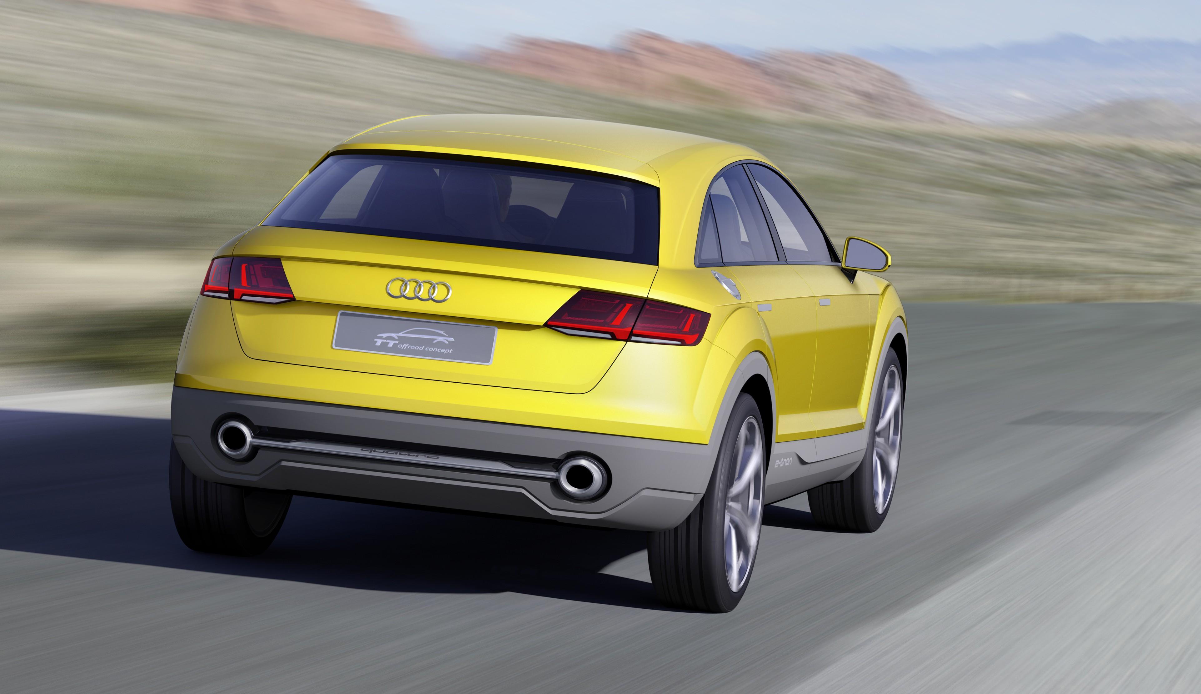 Audi TT Offroad Concept previews future Q4 'TT SUV' Image 242656