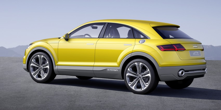 Audi TT Offroad Concept previews future Q4 'TT SUV' Image #242657