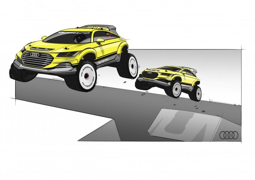 Audi TT Offroad Concept previews future Q4 'TT SUV' Image #242662