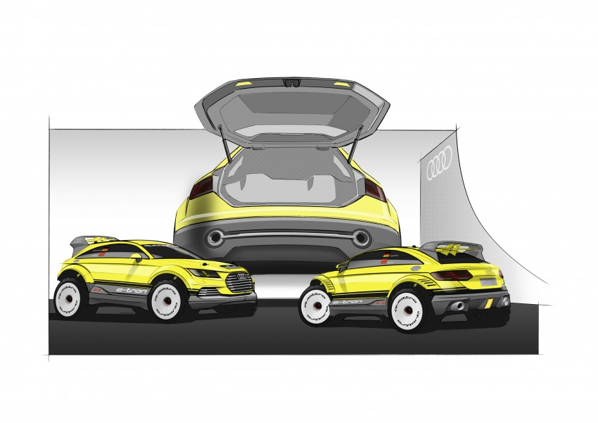 Audi TT Offroad Concept previews future Q4 'TT SUV' Image #242664