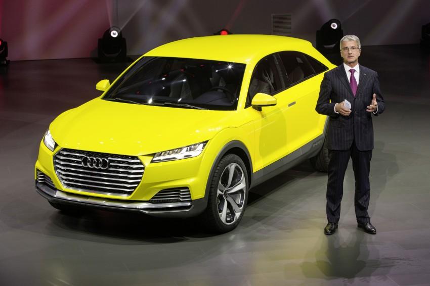 Audi TT Offroad Concept previews future Q4 'TT SUV' Image #242667