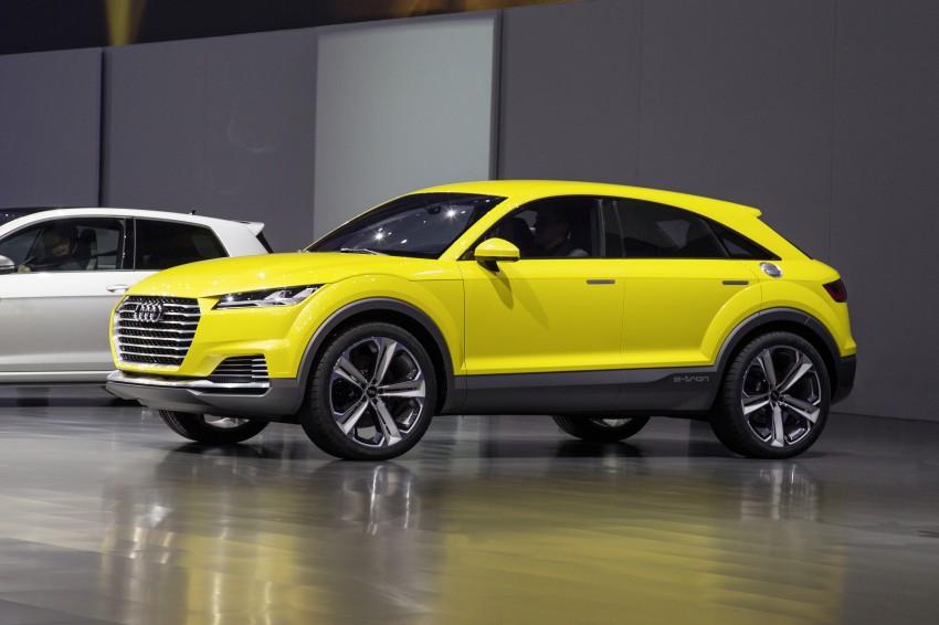 Audi TT Offroad Concept previews future Q4 'TT SUV' Image #242668