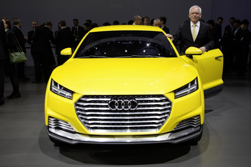 Audi TT Offroad Concept previews future Q4 'TT SUV' Image #242673