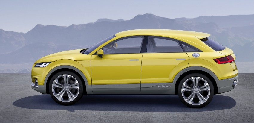 Audi TT Offroad Concept previews future Q4 'TT SUV' Image #242677