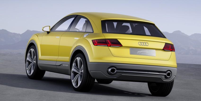 Audi TT Offroad Concept previews future Q4 'TT SUV' Image #242678
