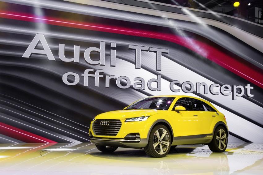 Audi TT Offroad Concept previews future Q4 'TT SUV' Image #242681