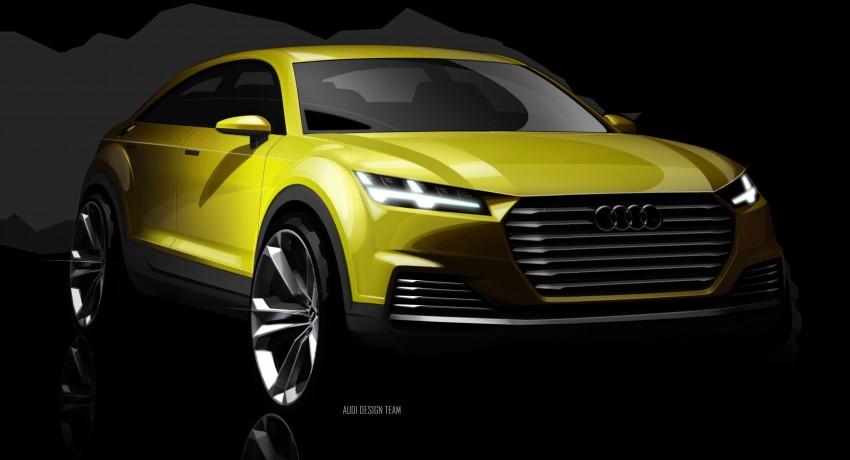 Audi TT Offroad Concept previews future Q4 'TT SUV' Image #242684