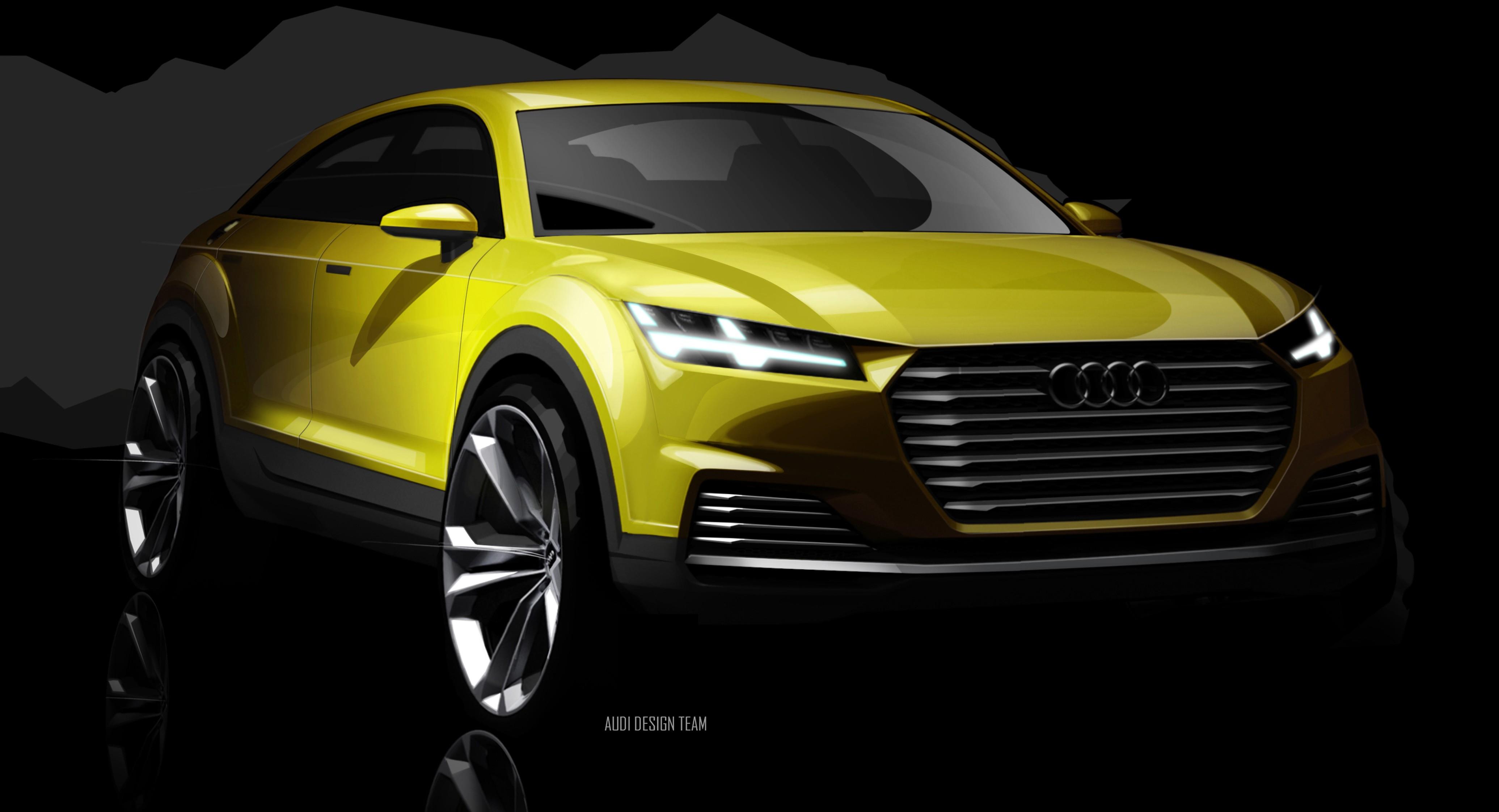 Audi Tt Offroad Concept Previews Future Q4 Suv Image 242684