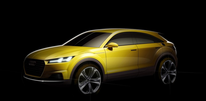 Audi TT Offroad Concept previews future Q4 'TT SUV' Image #242686