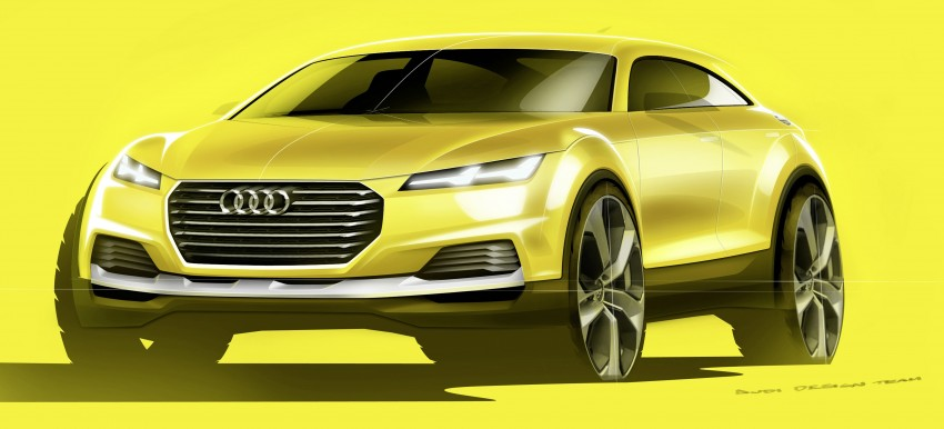 Audi TT Offroad Concept previews future Q4 'TT SUV' Image #242692