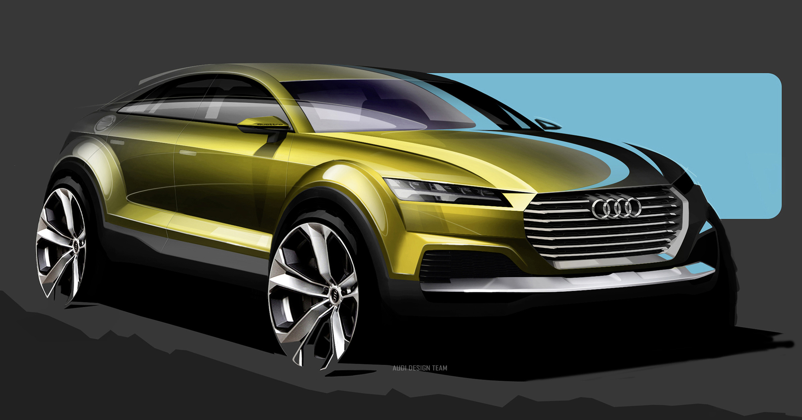 Audi S Beijing 2014 Show Car Could Preview A Q4 Suv Image