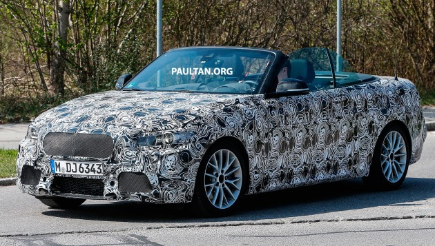 BMW 2 Series Cabrio Spy-02