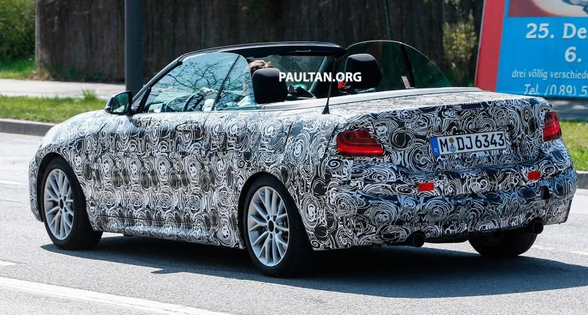 SPYSHOTS: BMW 2 Series Convertible caught testing Image #239839