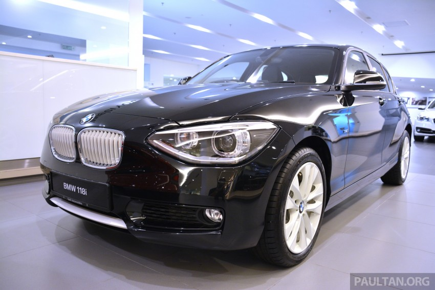 GALLERY: F20 BMW 116i and 118i Urban compared Image #243899