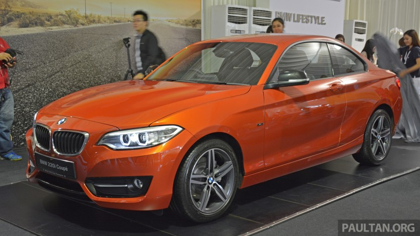 BMW 2 Series Coupe launched – 220i, from RM260k Image #241594