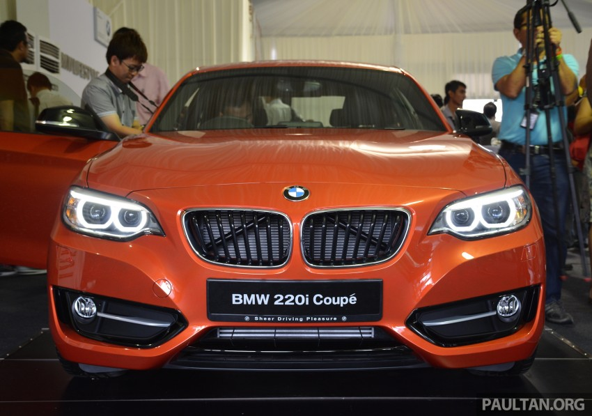 BMW 2 Series Coupe launched – 220i, from RM260k Image #241632