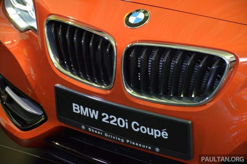 BMW 2 Series Coupe launched – 220i, from RM260k Image #241595