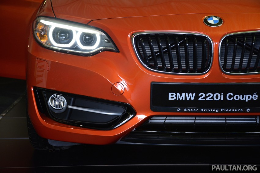 BMW 2 Series Coupe launched – 220i, from RM260k Image #241633