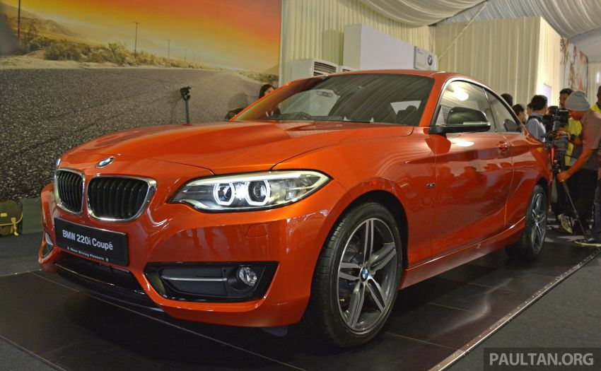 BMW 2 Series Coupe launched – 220i, from RM260k Image #241596