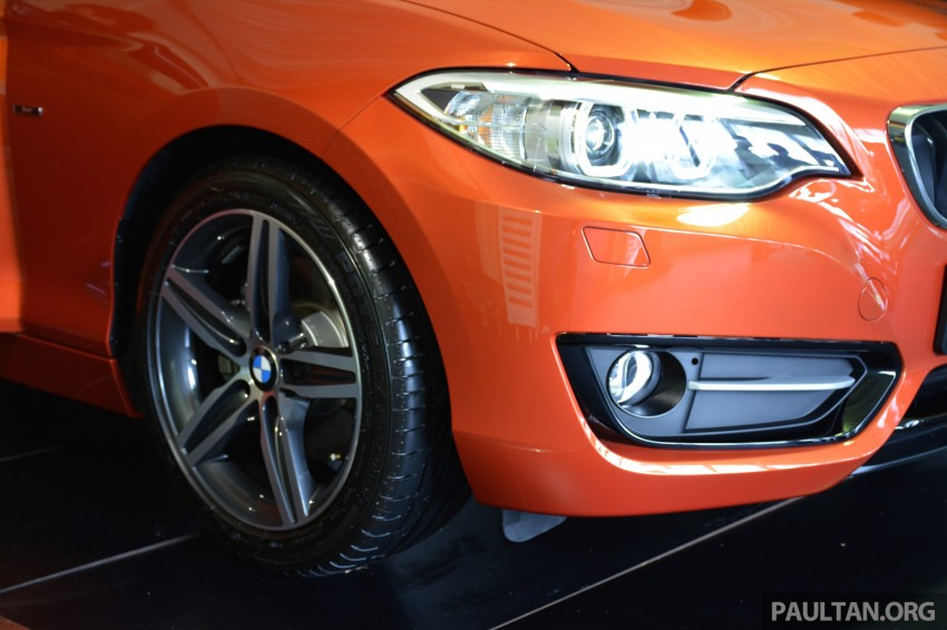 BMW 2 Series Coupe launched – 220i, from RM260k Image #241634