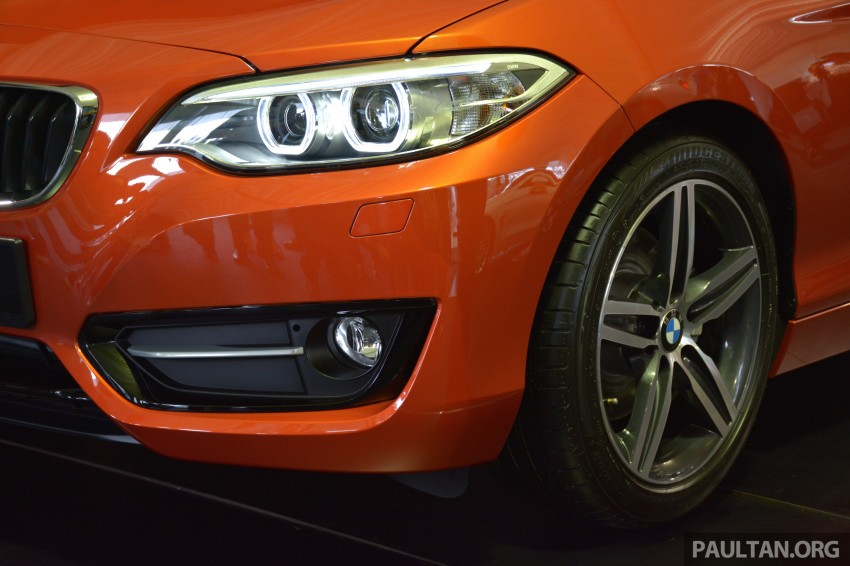 BMW 2 Series Coupe launched – 220i, from RM260k Image #241597