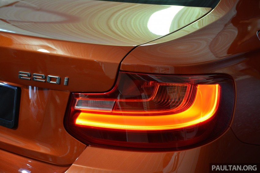 BMW 2 Series Coupe launched – 220i, from RM260k Image #241636