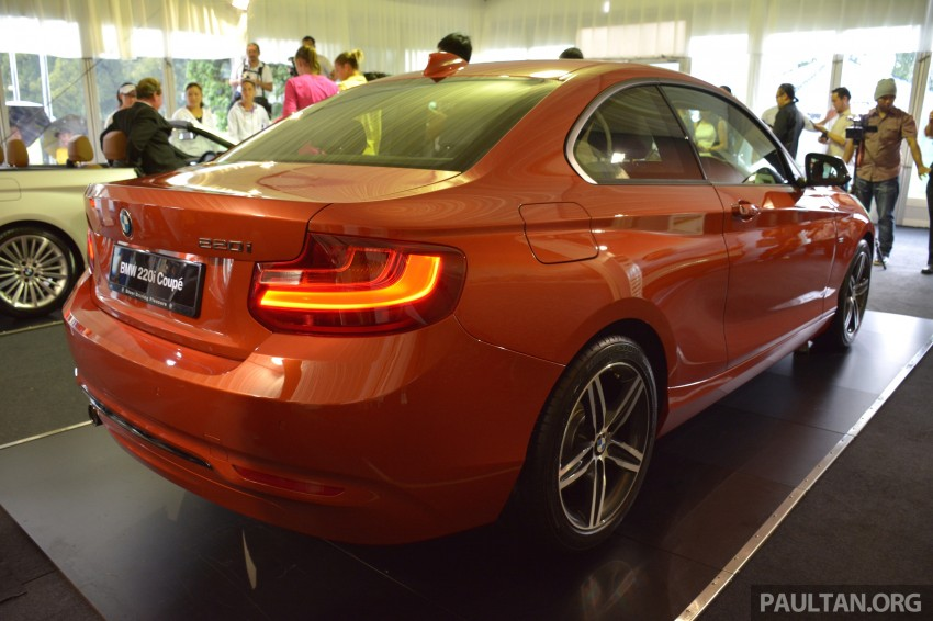 BMW 2 Series Coupe launched – 220i, from RM260k Image #241600