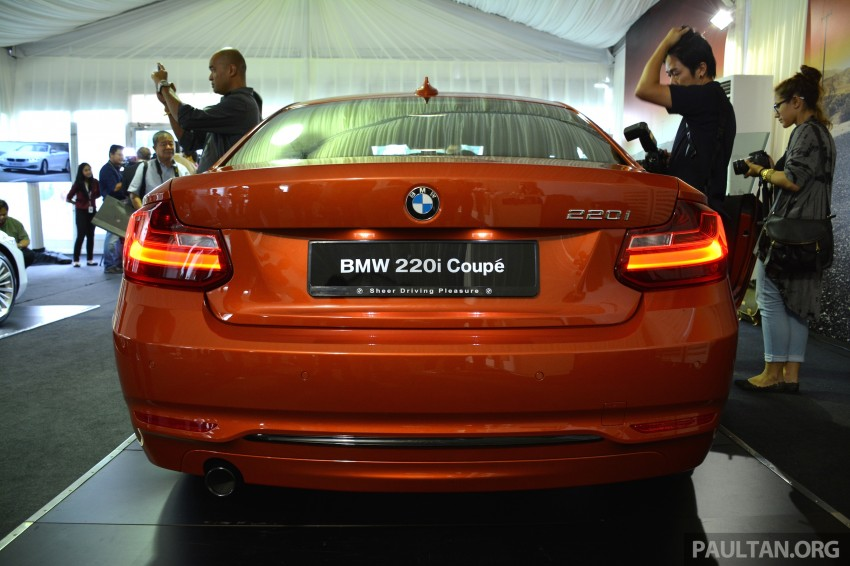 BMW 2 Series Coupe launched – 220i, from RM260k Image #241639