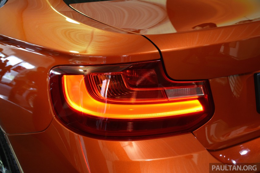 BMW 2 Series Coupe launched – 220i, from RM260k Image #241640