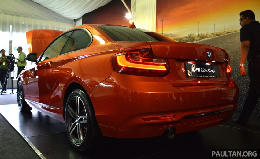 BMW 2 Series Coupe launched – 220i, from RM260k Image #241642