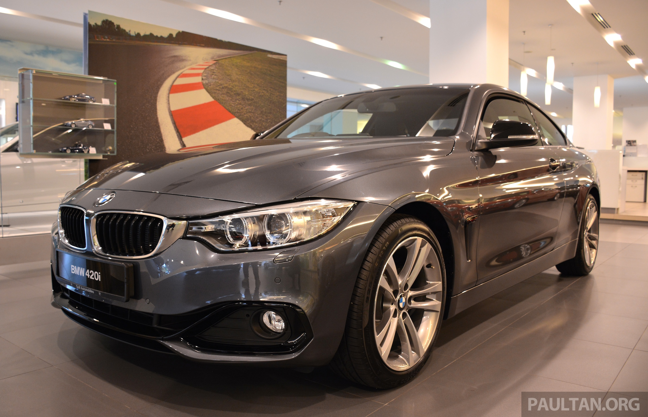 bmw 420i coupe launched in malaysia from rm300k. Black Bedroom Furniture Sets. Home Design Ideas