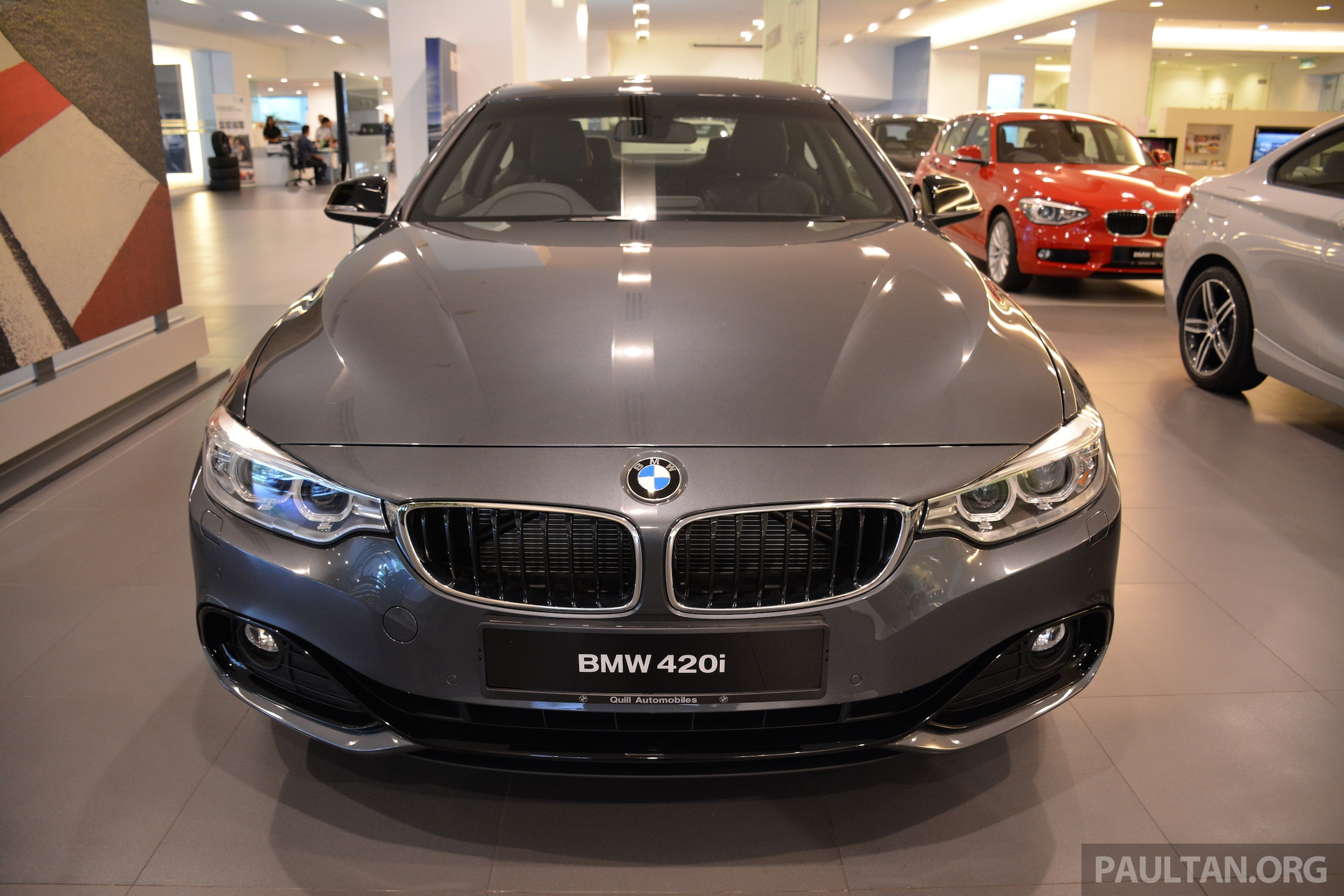 bmw 420i coupe launched in malaysia from rm300k image 243699. Black Bedroom Furniture Sets. Home Design Ideas
