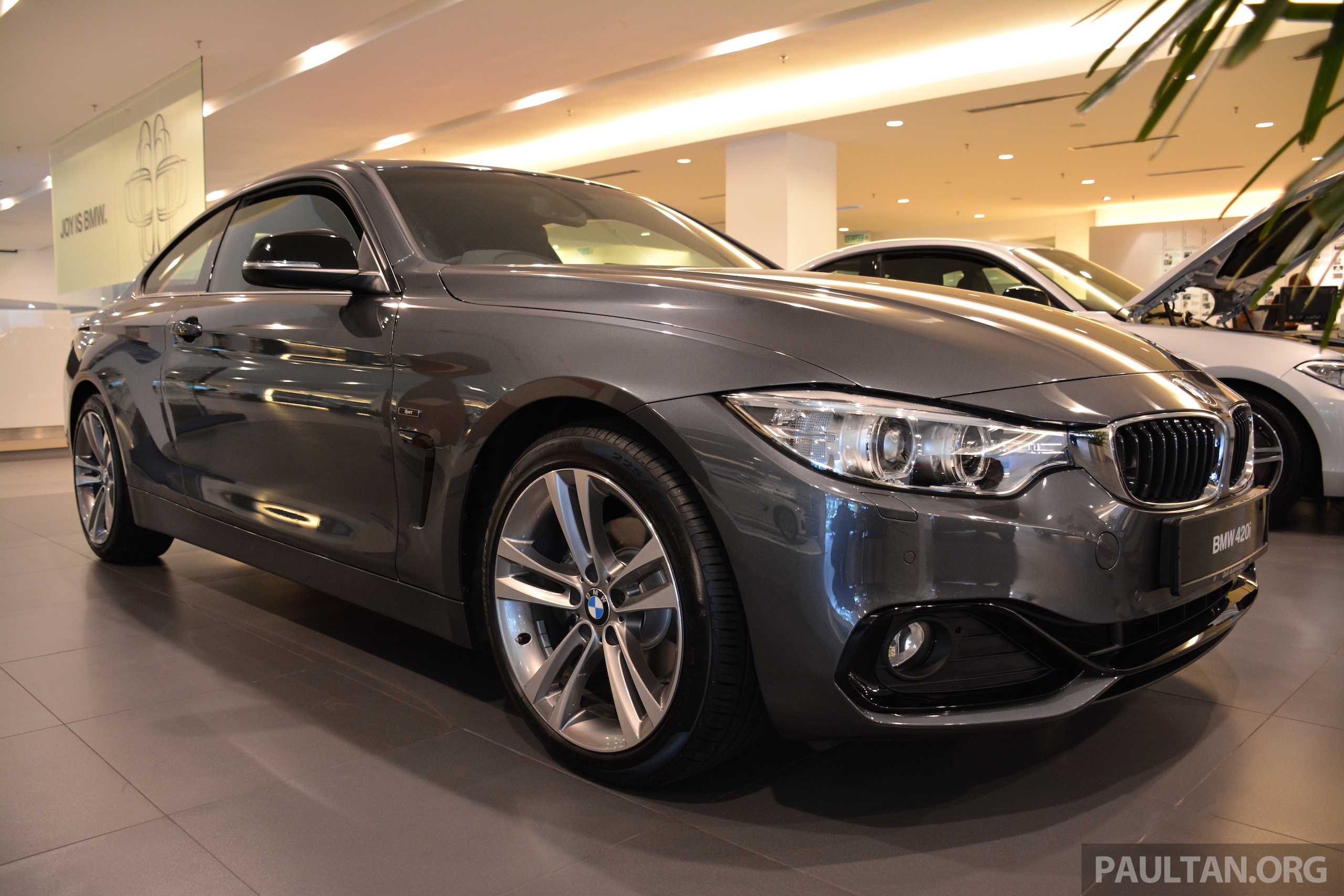 bmw 420i coupe launched in malaysia from rm300k image 243700. Black Bedroom Furniture Sets. Home Design Ideas