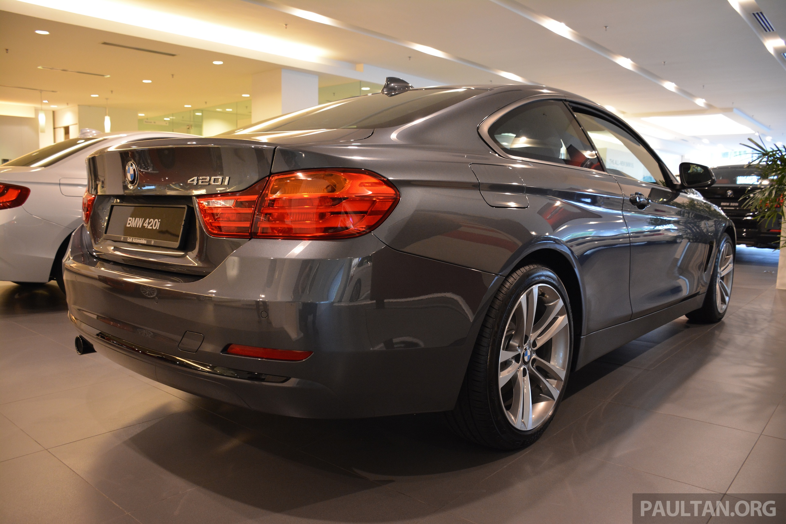 bmw 420i coupe launched in malaysia from rm300k image 243703. Black Bedroom Furniture Sets. Home Design Ideas
