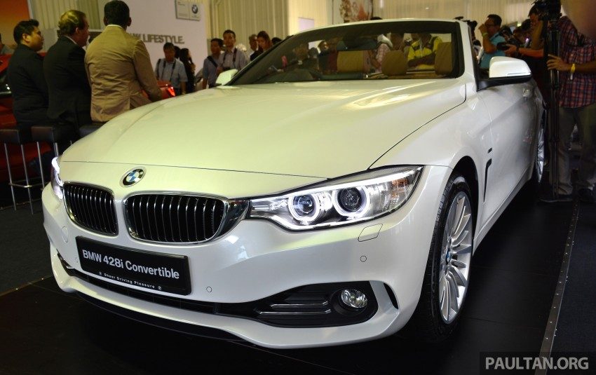 BMW 4 Series Convertible launched – 428i, RM429k Image #241606