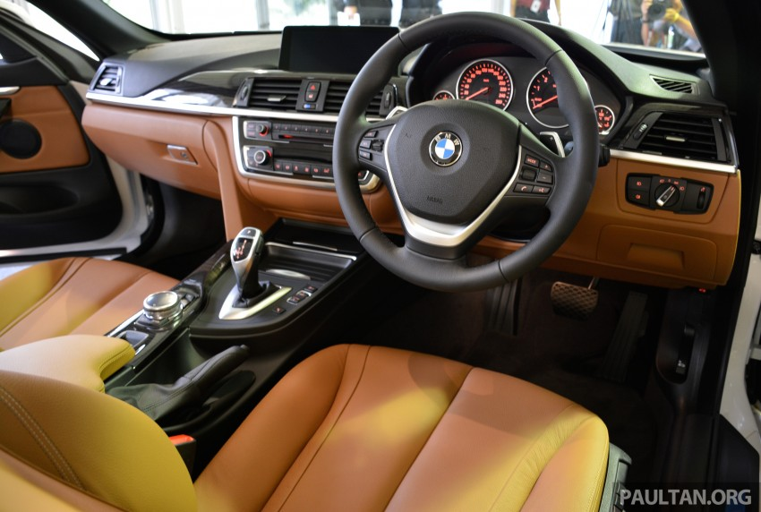 BMW 4 Series Convertible launched – 428i, RM429k Image #241650