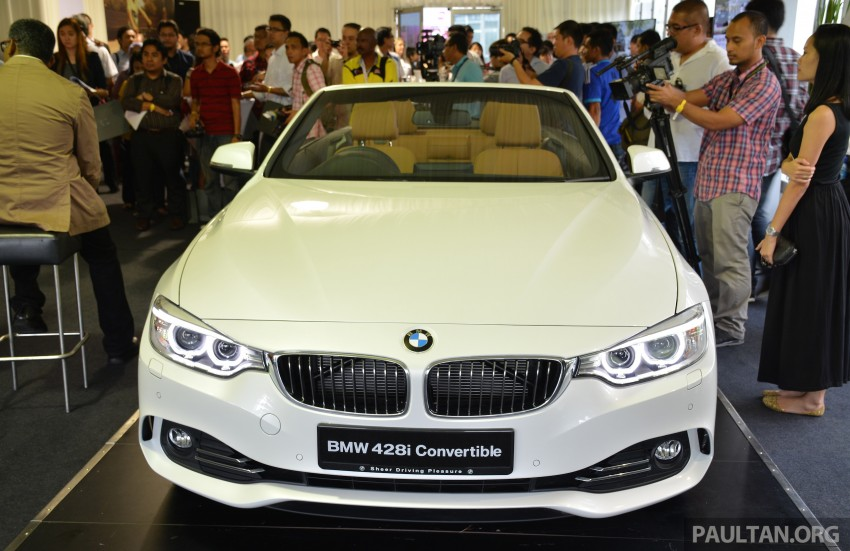 BMW 4 Series Convertible launched – 428i, RM429k Image #241607