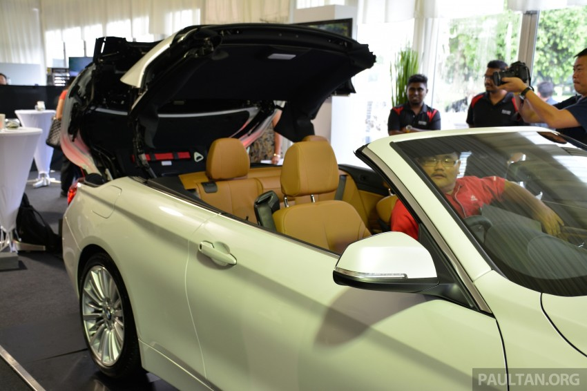 BMW 4 Series Convertible launched – 428i, RM429k Image #241653