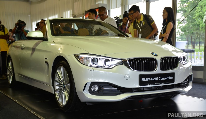 BMW 4 Series Convertible launched – 428i, RM429k Image #241608