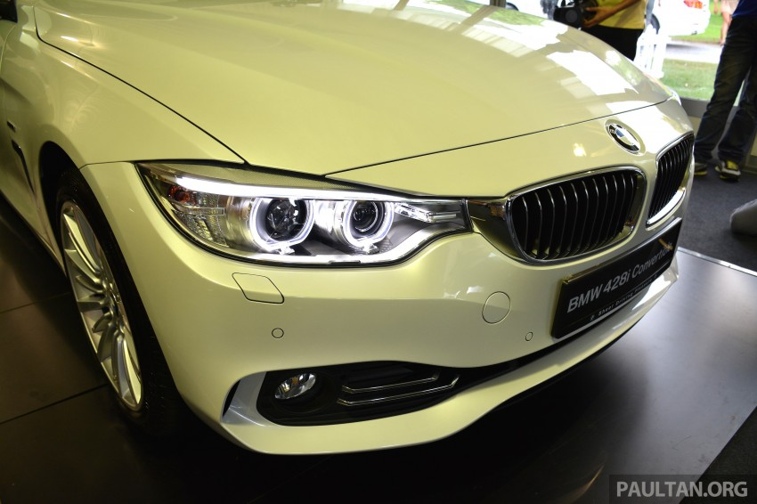 BMW 4 Series Convertible launched – 428i, RM429k Image #241613