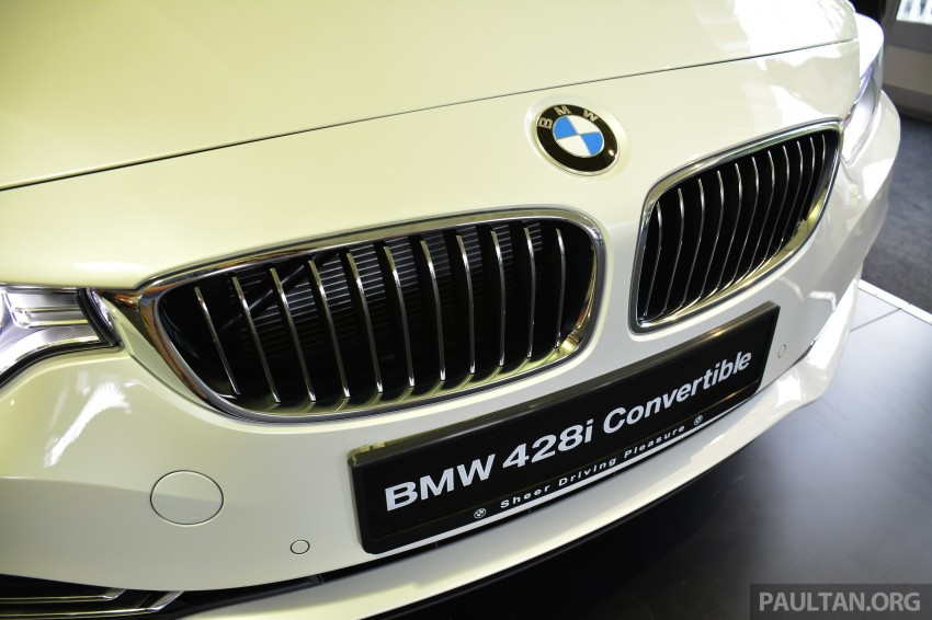 BMW 4 Series Convertible launched – 428i, RM429k Image #241614