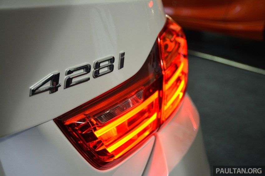 BMW 4 Series Convertible launched – 428i, RM429k Image #241616